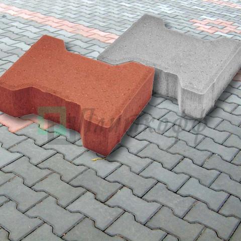 Тротуарная плитка «Катушка»