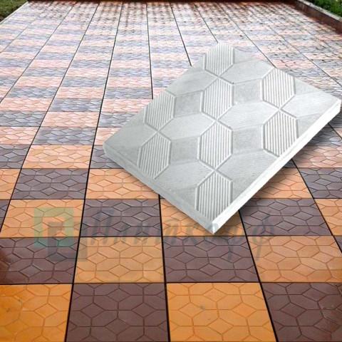Тротуарная плитка Ковер