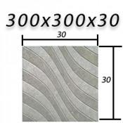 Тротуарная плитка 300х300х30 мм