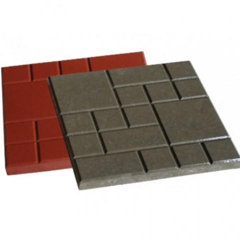 Тротуарная плитка Ластрико фигурное  «Шоколадка»