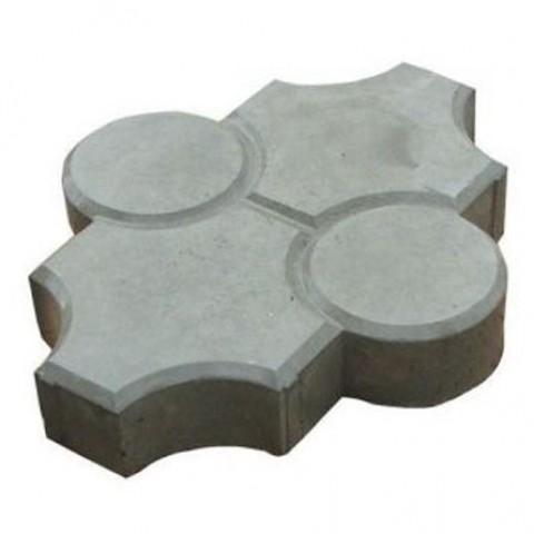 Тротуарная плитка «Клевер рельефный»
