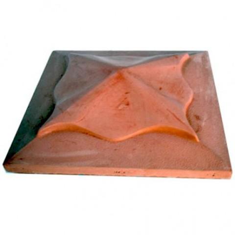 Тротуарная плитка «Крышка на столб»