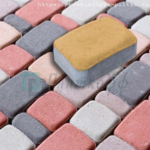 "Тротуарная плитка «Брук малый"" шагрень"