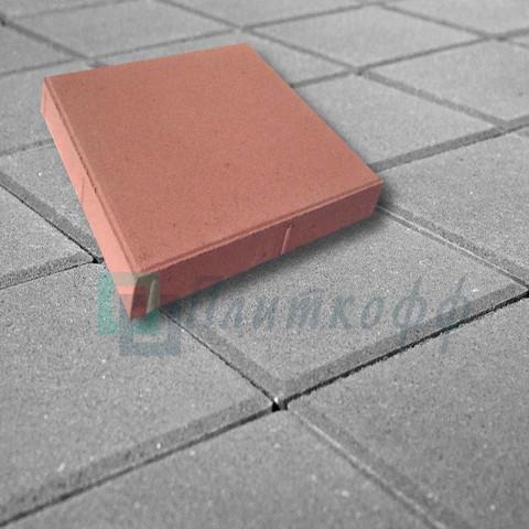 Тротуарная плитка Квадрат 330х330
