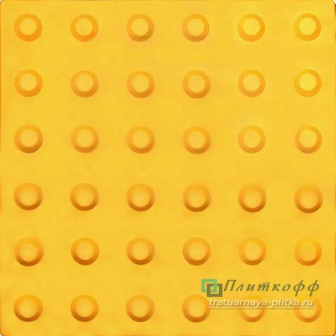 Тактильная плитка «Конусообразный риф» (линейный порядок)